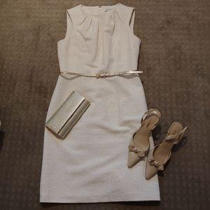Liz Claiborne belted dress